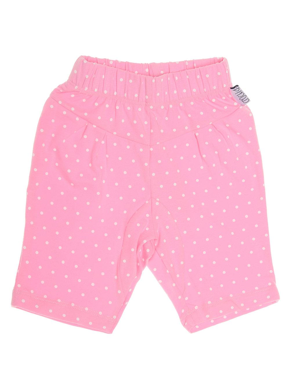 """Панталонки трико """"Точици в розово"""", 3-12 мес."""